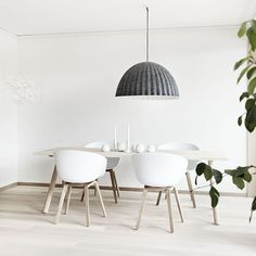Scandinavian Design Feels Cool And Contemporary At Home | DesignRulz Scandinavian Style, Scandi Style, Scandinavian Interior, Swedish Style, Swedish House, Hay About A Chair, Hay Chair, Swivel Chair, Tv Design