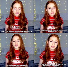 Madelaine Petsch about Cheryl - Riverdale cast