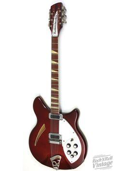 1973 Rickenbacker 360/12 Burgundyglo