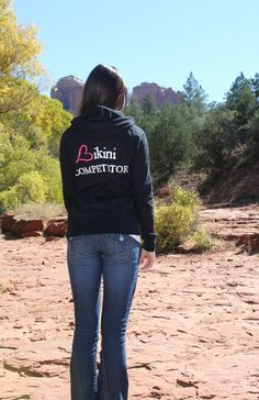 Bikini Competitor Hoodie by Beautiful to the Core- get yours today!!!  http://www.beautifultothecore.com/shop/