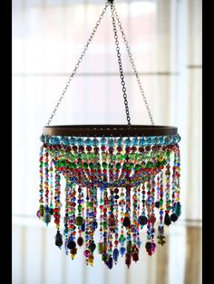 bead chandelier, lighting, boncuk avize