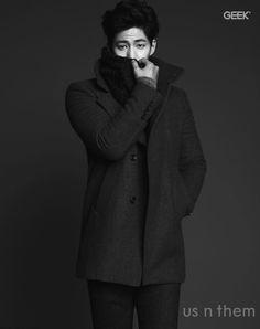 Song Jae Rim Geek Korea Magazine December Issue '14