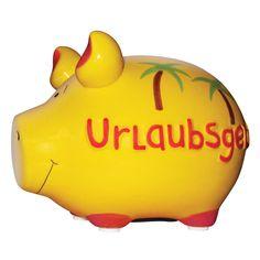 Sparschwein Urlaubsgeld - KCG #piggy #piggybanks #coin  #banks #money #boxes