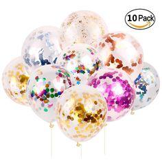 Paquete de globos redondos hinchables latex pack de 24 unidades varios colores
