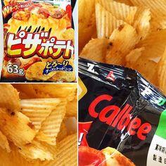 #PizzaPotato #BFJJulio  #カルビー ピザポテト Crujientes patatas fritas en rodajas gruesas con doble relleno de cremoso Emmental y queso cheddar. La combinación sabrosa de los ricos quesos y la carne tomates y especias crea una bolsa de satisfacción de chips de patata de pizza. Definitivamente te vas a enganchar! www.boxfromjapan.com  #Crispy thick-sliced potato chips with a creamy Emmental and cheddar double cheese topping. The flavorful combination of the rich cheese and the meat tomatoes and spice…