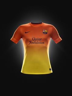 New FC Barcelona shirts! Nice!
