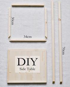 Simpler DIY Beistelltisch + Gewinner der Stelton Verlosung   s i n n e n r a u s c h