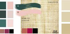 Цвет папирус. Сочетание с цветом папируса