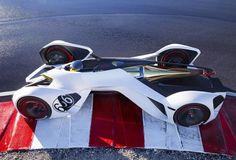 Chevrolet Unveils Chaparral 2X Vision Gran Turismo (VGT) Racing Car Concept