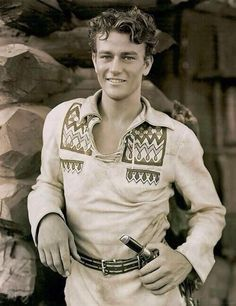 23 year old John Wayne