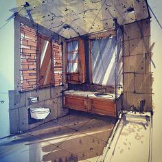 #sketch #sketching #sketch_arq #sketchbook #sketchzone #arqsketch #instaart #instagood #interior #interiorsketch #interiordesign #architect #archicketcher #эскиз #рисунок #набросок #drawing #art #arquitetapage