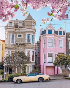 Pacific Heights, American Houses, Victorian Homes, Beautiful Homes, Building A House, Beautiful Pictures, San Francisco, Around The Worlds, Mansions