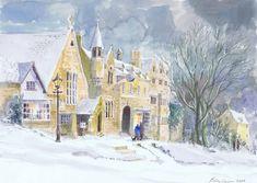 Lesley Holmes Cotswold Landscape Artist prints and originals | Wold Galleries