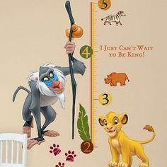 LE ROI LION Simba TOISE Murale Décorative STICKERS décoratif AUTOCOLLANTS Vinyls