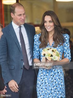 Catherine Duchess of Cambridge and Prince William Duke of Cambridge attend Stewards Academy on September 16 2016 in Harlow England