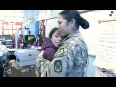 [VIDEO] U.S. Army Soldier, Home from Afghanistan, Surprises Her Daughter in Class