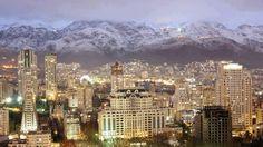 Tehran, after rain