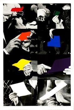 JOHN BALDESSARI - TWO UNFINISHED LETTERS - GREGG SHIENBAUM FINE ART MIAMI http://www.widewalls.ch/artwork/john-baldessari/two-unfinished-letters/ #Print