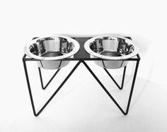 dog bowl stand – Etsy