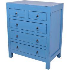 Blue chest