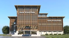 "Check out new work on my @Behance portfolio: ""Good Wood Plaza"" http://be.net/gallery/36882259/Good-Wood-Plaza"