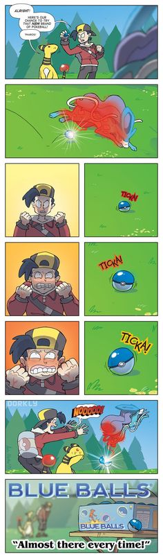 The Newest Type of Pokeball - Dorkly Comic