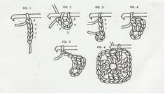 Granny Square directions-with diagrams. This might make it even easier.
