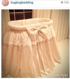 Gorgeous bedding by hugbugbedding custom made nursery crib bassinet bedding