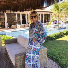 Dia maravilhoso! ❤Fui com a túnica da @vanguardastore. Perfect! #andreafialho #vanguardastore #pecasexclusivas
