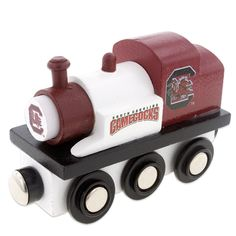 South Carolina Gamecocks  Wooden Toy Train #carolina #gamecocks