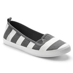 SO Canvas Slip-On Shoes - Women
