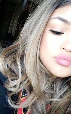 Koleen Diaz (from @koleendiaz on snapchat) Koleen Diaz, Blonde Hair Goals, Early Fall Outfits, Barbie Life, Happy Wife, Makeup Inspo, Most Beautiful, Make Up, Makeup