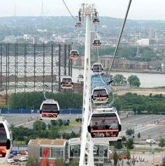 Lagos cable car ride ~ Osa's eye