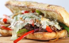 Joy Bauer Official Site - Nutrition and Weight-Loss Expertise You Can Trust Grilled Steak Recipes, Grilling Recipes, Beef Recipes, Recipies, Philly Steak Sandwich, Joy Bauer Recipes, Healthy Sandwiches, Morning Food, Healthy Dinner Recipes