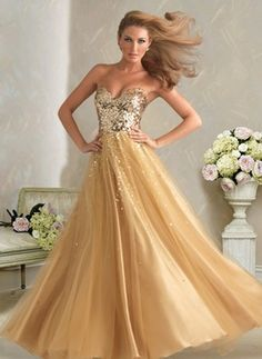 645530e0036990 Brilliant A-Line Princess Sweetheart Floor-Length Satin Tulle Prom Dresses  With Lace