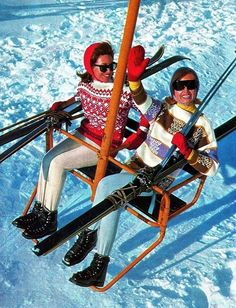 Knitspiration :: Vintage Ski Knits