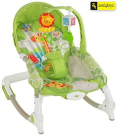 Buy Zest4Toyz Jouet Portable Rocker Bouncer with Selectable Vibrator Mode and Toys Online at Low Prices in India - Amazon.in
