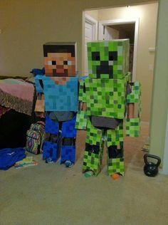Homemade Minecraft Costumes! - Imgur