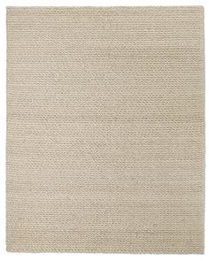 Textura Twist Wool Rug - Oatmeal Better Than Sisal b/c you can clean it!