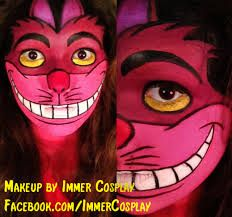 Image result for cheshire cat makeup