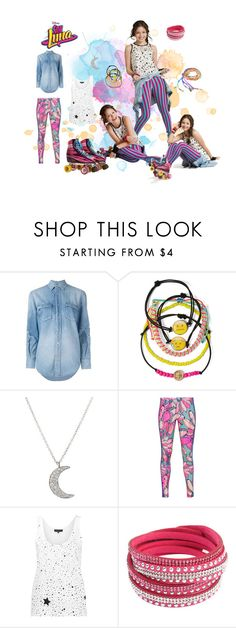 """soy luna"" by maria-look on Polyvore featuring Yves Saint Laurent, Carole, Finn, adidas Originals, Barbara Bui, Chicnova Fashion and Mus"