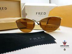d9410602dcd2b Fred CYTHERE Golden Platinum Sunglasses Vintage Occhiali Brille Lunettes  Frame  Fred  Vintage