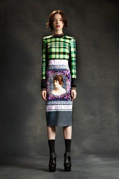 Photo: Courtesy of Clover Canyon      print    ✉ email     look 1  Fall 2014 Ready-to-Wear  Clover Canyon