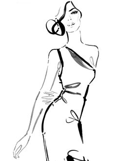 Fashion illustration // Kerrie Hess