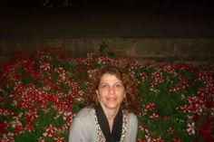 Linda flores e eu