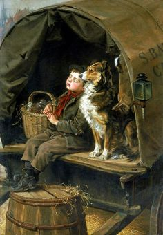 Ralph Hedley - Off to Market | Flickr - Photo Sharing!