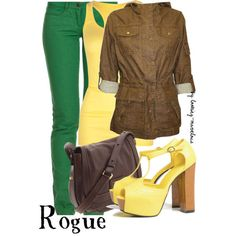 Rogue from the X-Men Outfit