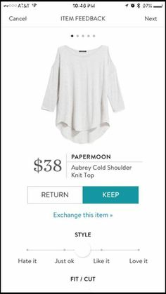 cold shoulder top :: solid color
