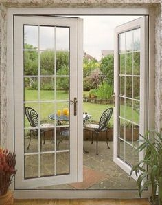 French windows are floor length casement windows which usually open . Aluminium Windows And Doors, Casement Windows, French Windows, French Doors, Window Unit, Glass Partition, Clipart Black And White, Open Window, Layout