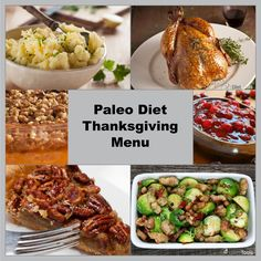 Paleo Diet Thanksgiving Menu: All the recipes you need are right here!